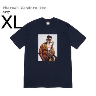 シュプリーム(Supreme)のXL Supreme Pharoah Sanders Tee Navy (Tシャツ/カットソー(半袖/袖なし))