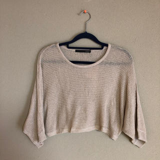 ヘザー(heather)のモモンガスリットTシャツ(Tシャツ(長袖/七分))