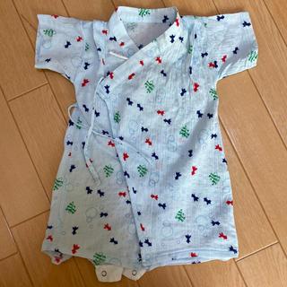 イセタン(伊勢丹)の赤ちゃんの城☆甚平 ロンパース 70(甚平/浴衣)