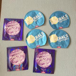 ヴィクトリアズシークレット(Victoria's Secret)のフェイスマスク PINK 2種類合計7個(パック/フェイスマスク)