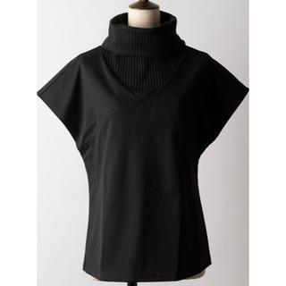 ラベルエチュード(la belle Etude)のラベルエチュード 半袖リブタートルカットソー(カットソー(半袖/袖なし))