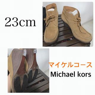 マイケルコース(Michael Kors)のマイケルコース ワラビーデザイン ウェッジソール (ブーツ)