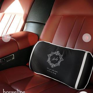 レディー(Rady)のRady  ホテルシリーズランバークッション 低反発 ブラック(車内アクセサリ)