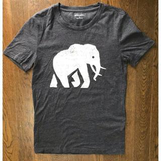 バナナリパブリック(Banana Republic)のBananaRepablic バナナリパブリック Tシャツ S グレー(Tシャツ/カットソー(半袖/袖なし))