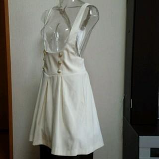 ハニーズ(HONEYS)の肩掛け白スカート&星座柄シャツ(その他)