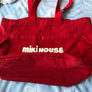 ミキハウス(mikihouse)のミキハウス布バック❗️(マザーズバッグ)