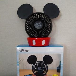 Disney - 非売品ミッキーマウスプレミアムUSB卓上扇風機 ディズニーサーキュレーター