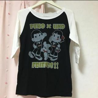 トリプルエー(AAA)のAAA UNO✖️PEKO コラボtシャツ(Tシャツ(半袖/袖なし))
