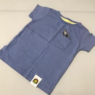 サマンサモスモス(SM2)のSamansa Mos2 ズーラシアコラボ アニマルTシャツ 95(Tシャツ/カットソー)