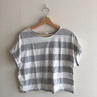 ミスティウーマン(mysty woman)の太ボーダードルマンT(Tシャツ(半袖/袖なし))