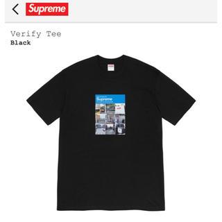 シュプリーム(Supreme)の【Asamu様】Verify Tee × Pharoah Sanders Tee(Tシャツ/カットソー(半袖/袖なし))
