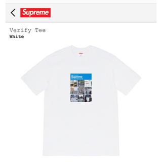 シュプリーム(Supreme)のVerify Tee(Tシャツ(半袖/袖なし))
