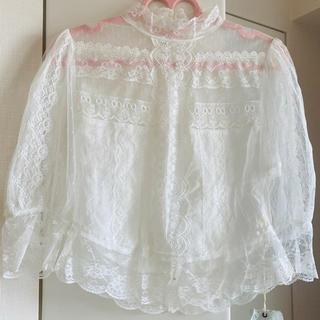 ラベルエチュード(la belle Etude)のVintageレースブラウス ラベルエチュード(シャツ/ブラウス(半袖/袖なし))