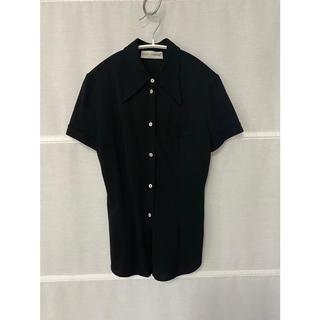 ドルチェアンドガッバーナ(DOLCE&GABBANA)のDOLCE&GABBANA  black blouse(シャツ/ブラウス(半袖/袖なし))