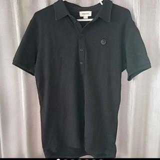 ディーゼル(DIESEL)のディーゼル  ポロシャツ メンズ Mサイズ カラー 黒 ブラック(ポロシャツ)