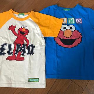 セサミストリート(SESAME STREET)の☆セサミストリート☆  Tシャツ エルモ 130サイズ(Tシャツ/カットソー)