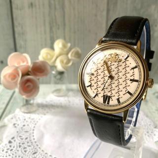 ヴィヴィアンウエストウッド(Vivienne Westwood)の【美品】 vivienne ヴィヴィアン 腕時計 千鳥柄 スクイグル ベルト(腕時計(アナログ))