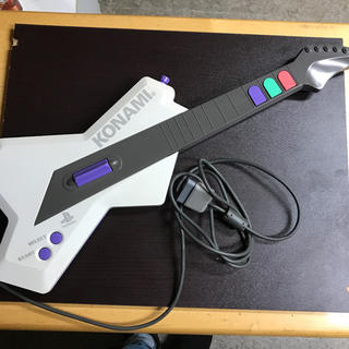 コナミ(KONAMI)のPS2 ギターフリークス専コントローラ(その他)