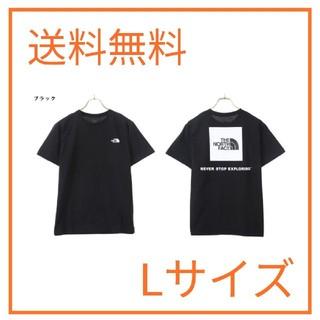 ザノースフェイス(THE NORTH FACE)のTHE NORTH FACE ノースフェイス Tシャツ Lサイズ ブラック(Tシャツ/カットソー(半袖/袖なし))