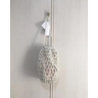 ラグナムーン(LagunaMoon)のメッシュ編み巾着BAG(ショルダーバッグ)