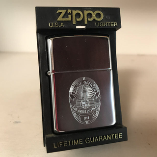 ジッポー(ZIPPO)のZippo LA ロサンゼルス Police ポリス(タバコグッズ)
