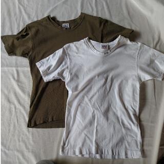 フォーティーファイブアールピーエム(45rpm)のレア/VINTAGE  45rpm Tシャツ[白](Tシャツ(半袖/袖なし))