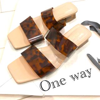 ワンウェイ(one*way)のローサンダル(サンダル)