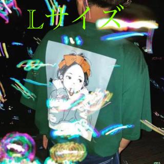 カーハート(carhartt)のPOP ART Carhartt pocket Tee (green) Lサイズ(Tシャツ(半袖/袖なし))