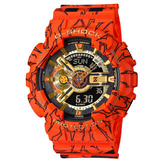 ジーショック(G-SHOCK)の新品 G-SHOCK ドラゴンボール GA-110JDB-1A4JR(腕時計(デジタル))