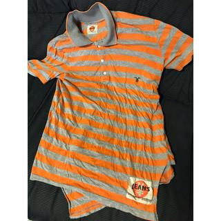 エンジーンズ(YENJEANS)の●円ジーンズ アシメポロシャツ オレンジレーベル(ポロシャツ)