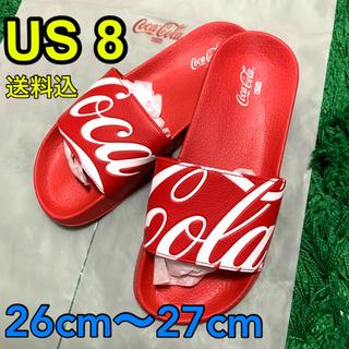 KITH Coca-Cola キス コカコーラ サンダル US8 41(サンダル)