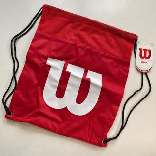 ウィルソン(wilson)のウィルソン ランドリーバッグ WRZ877799レッド(バッグ)