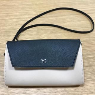 ヨウジヤマモト(Yohji Yamamoto)の【未使用】雑誌付録  お洒落!Y'sウォレットポシェット(ショルダーバッグ)