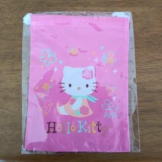 ハローキティ(ハローキティ)のハローキティ 巾着袋(日用品/生活雑貨)