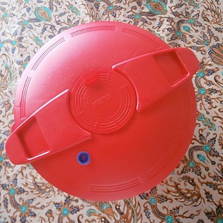 マイヤー(MEYER)のGW Saleマイヤー  電子レンジ圧力鍋 レッド MPC-2.3(調理道具/製菓道具)
