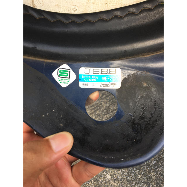 Rawlings(ローリングス)のローリングス 軟式 野球 ヘルメット  スポーツ/アウトドアの野球(防具)の商品写真