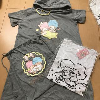 シマムラ(しまむら)のワンピースと巾着とTシャツ(その他)