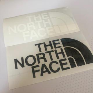 ザノースフェイス(THE NORTH FACE)のカッティングステッカー ノースフェイス(ステッカー)