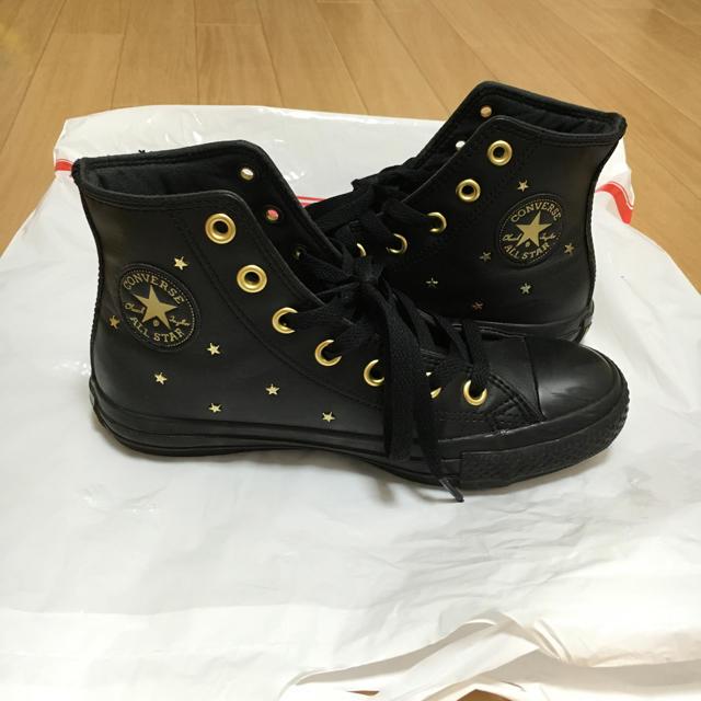 c84aa50f34fcfe CONVERSE - コンバース黒スニーカー♡の通販 by doremi♩