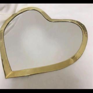 フランフラン(Francfranc)のmocoMOROCCO I love meHeart mirror (壁掛けミラー)