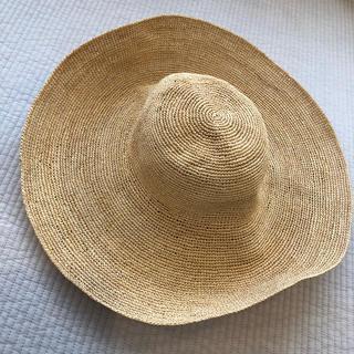 ボンポワン(Bonpoint)のbonpoint ボンポワン ラフィアハット サイズ3(帽子)