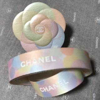 シャネル(CHANEL)のシャネル☆2mラッピングリボン&カメリア(その他)