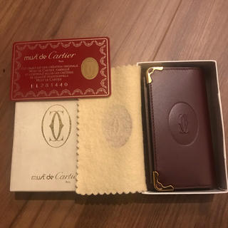 カルティエ(Cartier)の新品未使用!カルティエ キーケース(キーケース)