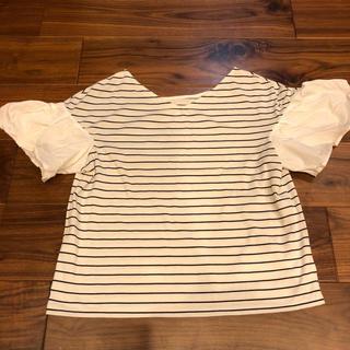 オペークドットクリップ(OPAQUE.CLIP)のボーダー Tシャツ トップス(Tシャツ(半袖/袖なし))