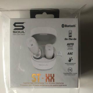 SOUL ST-XX PURE WHITE 完全ワイヤレスイヤホン (ヘッドフォン/イヤフォン)
