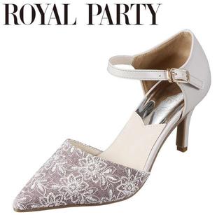 ロイヤルパーティー(ROYAL PARTY)のパンプス グレー 花柄 royal party(ハイヒール/パンプス)
