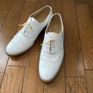 バークレー(BARCLAY)のバークレー BARCLAY オックスフォードシューズ ホワイト(ローファー/革靴)