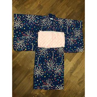 ツモリチサト(TSUMORI CHISATO)の130cm  ツモリチサト KIDS 浴衣 花火(甚平/浴衣)