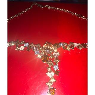 クリスチャンディオール(Christian Dior)のヴィンテージ  ジュエリー ネックレス(ネックレス)