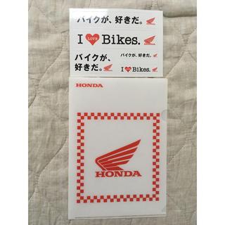 ホンダ(ホンダ)の鈴鹿8耐 ホンダ ファイル ステッカー(その他)